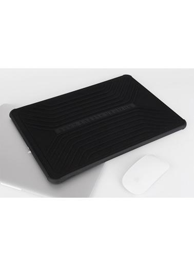 "Wiwu Wiwu Bumper Sleeve Case MacBook Pro Air Retina Laptop Çanta Koruma Kese Kılıf 13.3"" Darbe Emici Siyah"